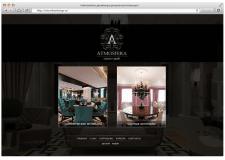 Сайт визитка дизайнера atmosferadesign.ru