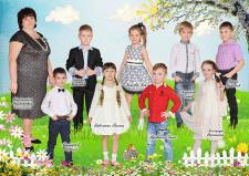 Вырезание детей в полный рост