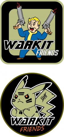 Warkit Friends - страйкбольные патчи