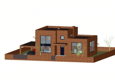 Проект  сучасного будинку.Цегла.