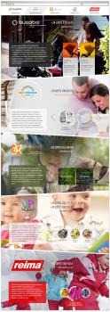 Лендинг по детским сайтам