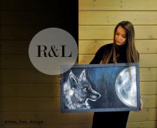 "Картина на заказ ""Moon"""