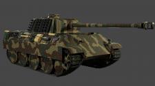 Модель танка Panzerkampfwagen V Panther Ausf. G