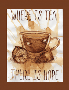 where is tea there is hope