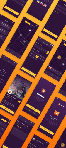 Garage App Design