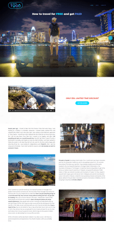 My Travel To Go сайт WordPress на теме Monstroid2