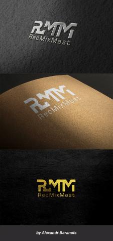 """Логотип для студии звукозаписи """"RMM""""."""
