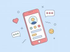 Иллюстрация телефон