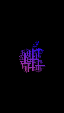 Редизайн логотипа Apple... Вроде круто получилось