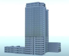 3д модель, (perspective match)