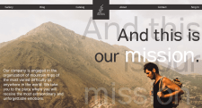Web Site design / Figma  Boldly traveling