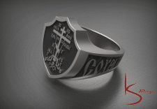 3D перстень