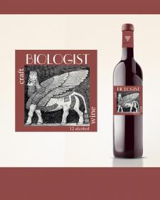 Этикетка для Крафтого вина