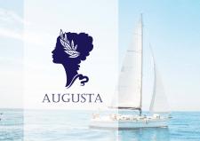 """""""Августа"""" эмблемма и логотип для яхты"""