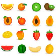 фрукты вектор