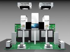 Выставочный стенд для компании Vector VS
