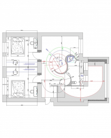Проектировка квартиры, освещение, планировка 1