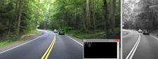 OpenCV детектор автомобилей и расстояния до них.