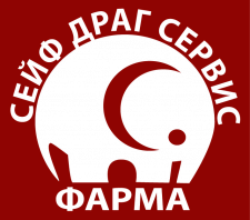 "СейфДрагСервис ФАРМА"" логотип"