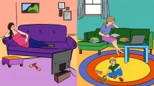 Иллюстрация для ролика по методикам развития детей