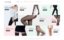 Дизайн сайта-каталога колгот