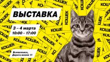 Баннер для выставки кошек.