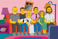 Сім'я стилі Сімпсони