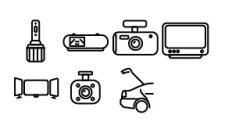 Иконки для автомагазина