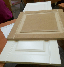 Вигоготовлення меблевого фасаду по зразку