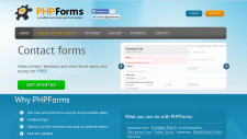 PHPForms – All-in-One Web Form Builder