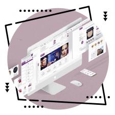 """Дизайн интернет-магазина косметики """"MyShop"""""""