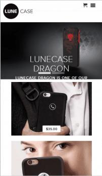LuneCase.com - Shopify магазин корпусов iPhone
