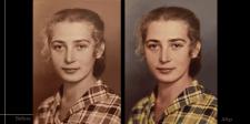 Enhancement retouching   Photo colorization