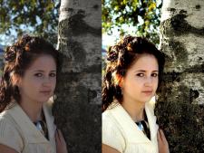 Фото до и после. Ретушь, цветокоррекция.