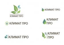 Логотипы разработан для компании КЛИМАТ ПРО