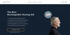 Shopify магазин одного товара (слуховой аппарат)