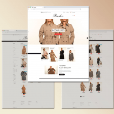 Интернет-магазин женской одежды Raslov