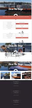 Сайт по продаже и аренде домов на воде