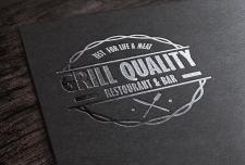 Логотип ресторана.