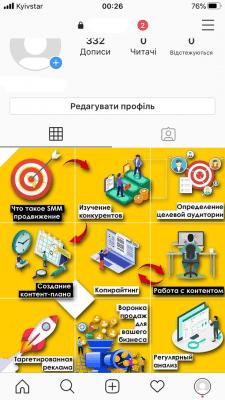 Создание Стиля в Instagram (Instagram Landing)