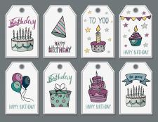Разработка бирок для Дня Рождения