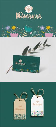 Фирменный стиль для цветочной лавки
