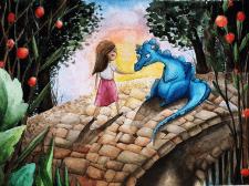Дівчинка і дракон