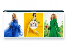 Баннер для интернет-магазина одежды