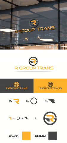 "Логотип ""R-Group Trans""."
