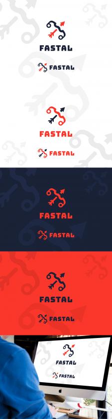 Логотип для веб студии Fastal на конкурс