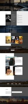 Theme for portfolio