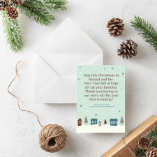 The Oliver and Mike Company | Christmas card
