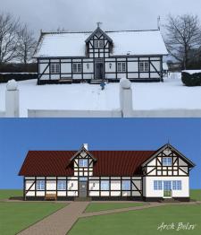 Дом в Дании. Реконструкция (г.Копенгаген)
