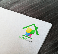 """Дизайн логотипа для фирмы """"Home ремонт"""""""